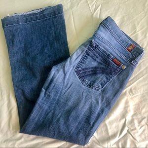 7FAM Dojo Jeans Size 27
